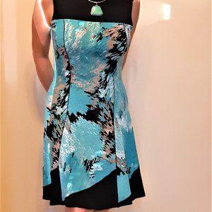 💖Host Pick💖 Eva Varro Green Printed Halter Dress